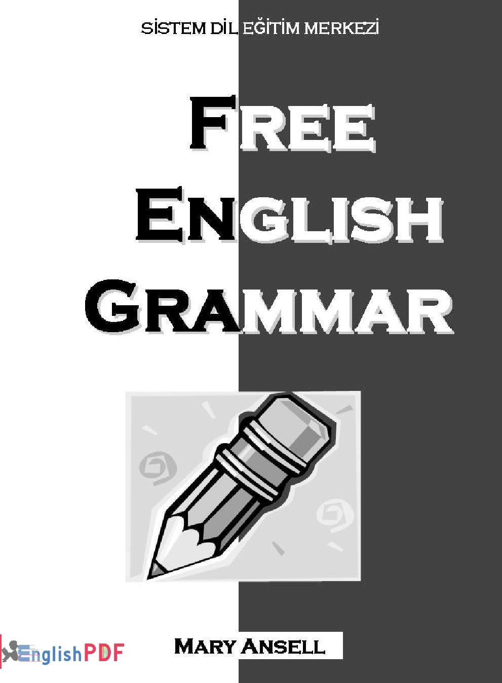 Pdf Free English Grammar Pdf Download Englishpdf